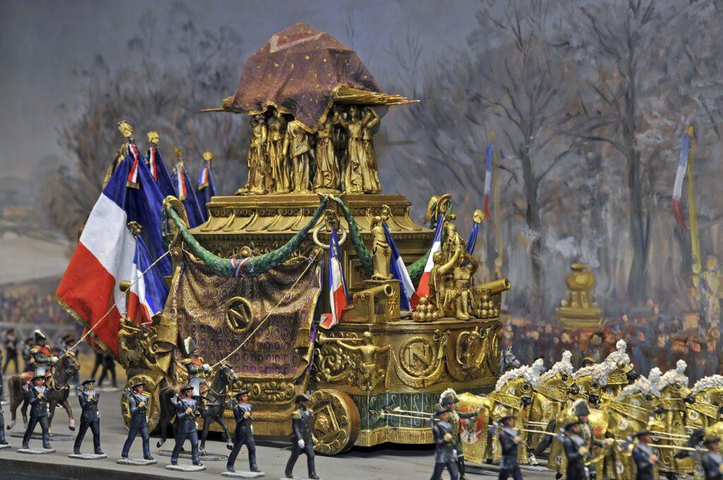 diorama du retour des cendres de l'Empereur